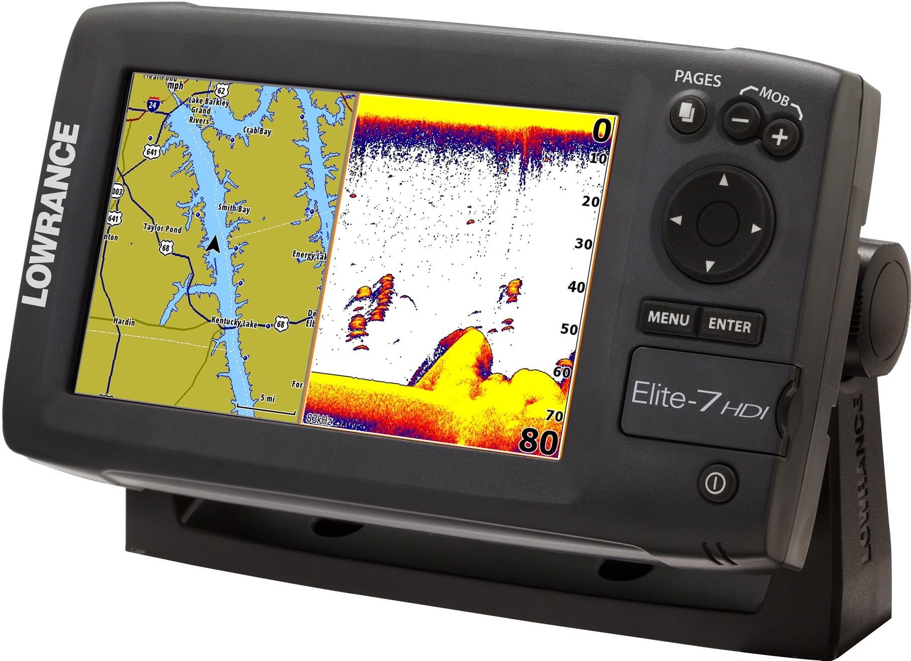 lowrance elite 7 hdi review fish finder guy