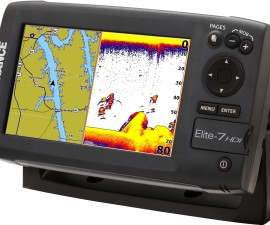 Lowrance Elite 7 HDI sonar and gps