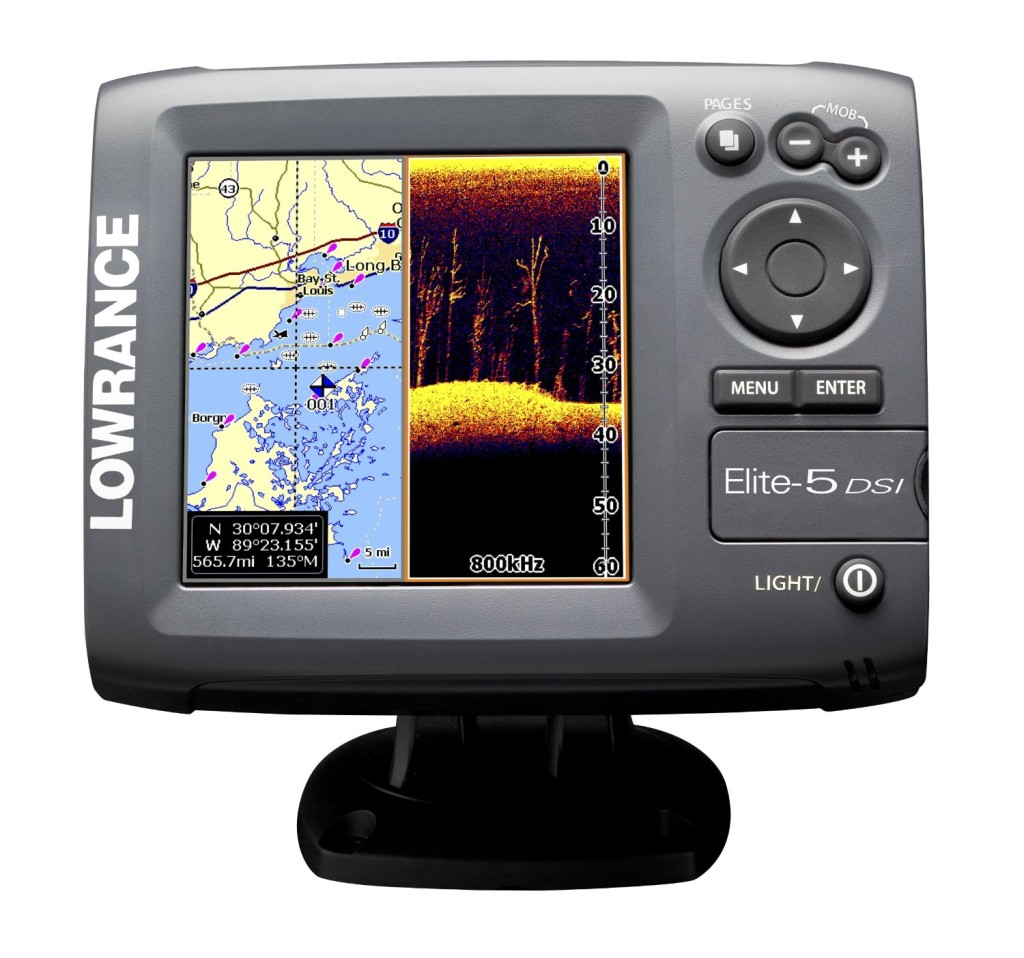 Lowrance elite 5 dsi review fish finder guy for Fish finder lowrance