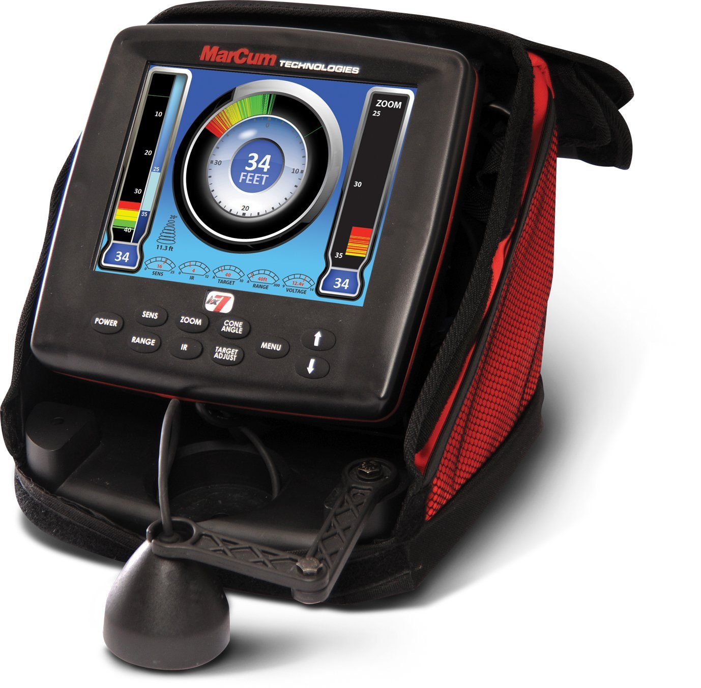 Marcum lx 7 review fish finder guy for Fish finder reviews