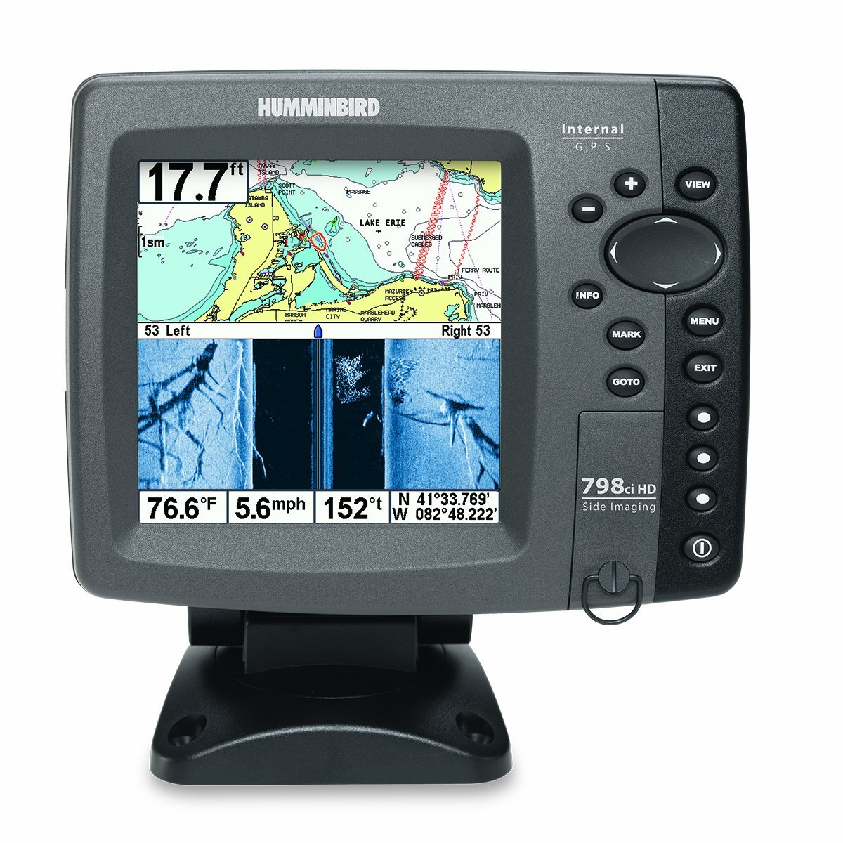 humminbird 798ci hd si combo review fish finder guy