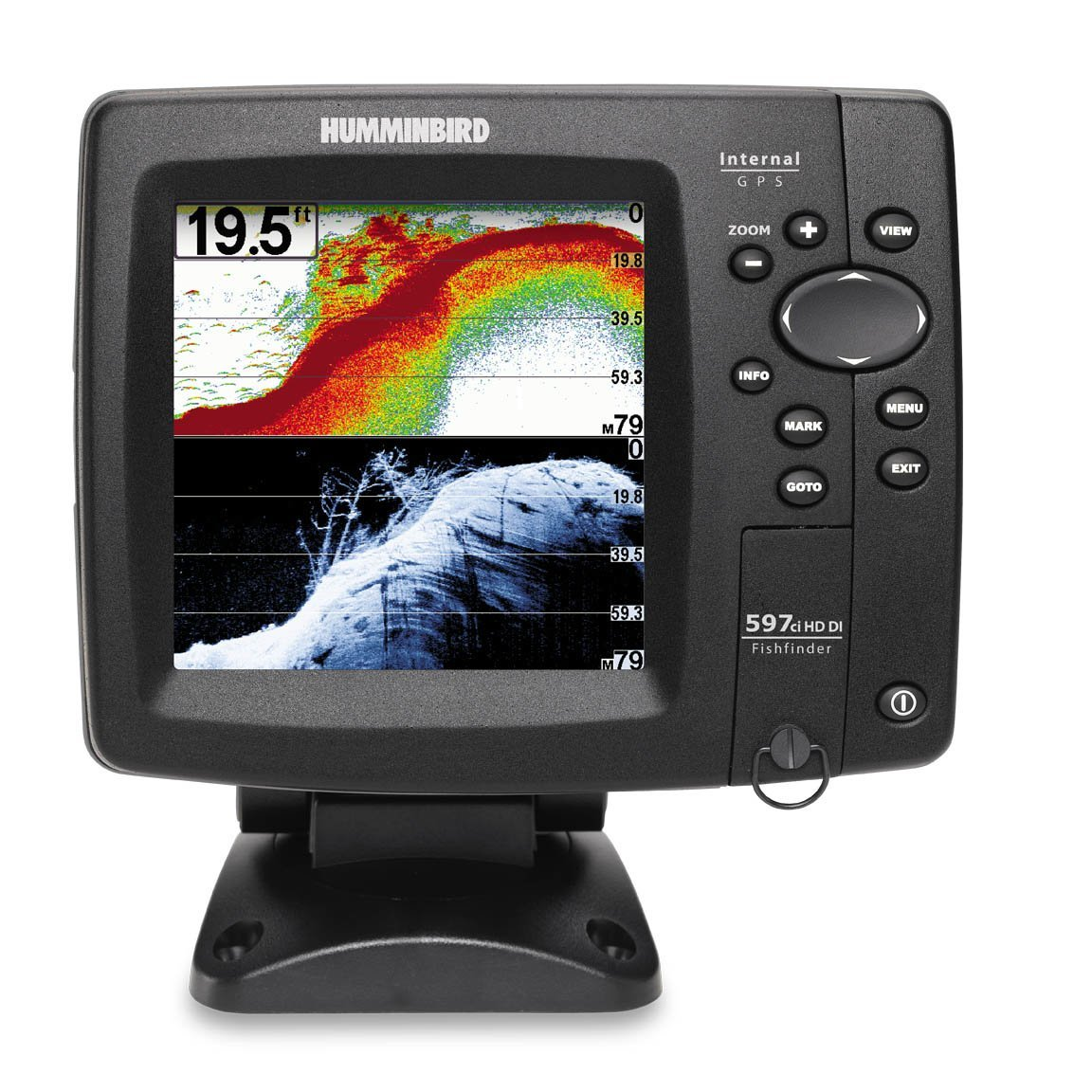 Humminbird 597ci hd di review fish finder guy for Humminbird portable fish finder