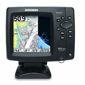 Humminbird 597ci HD down imaging