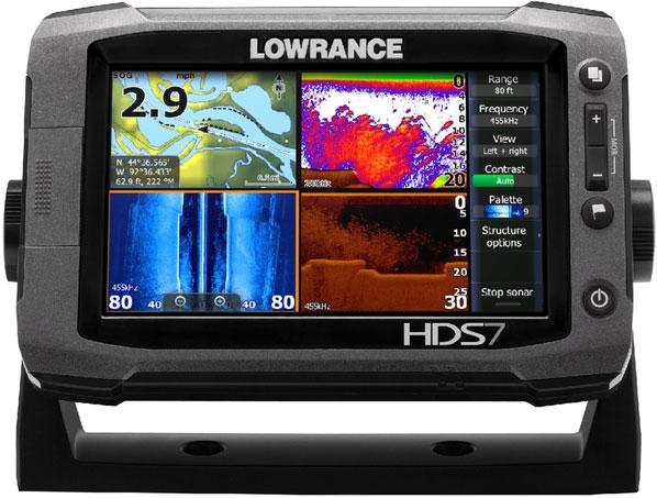 Lowrance HDS 7 gen2 multiple windows