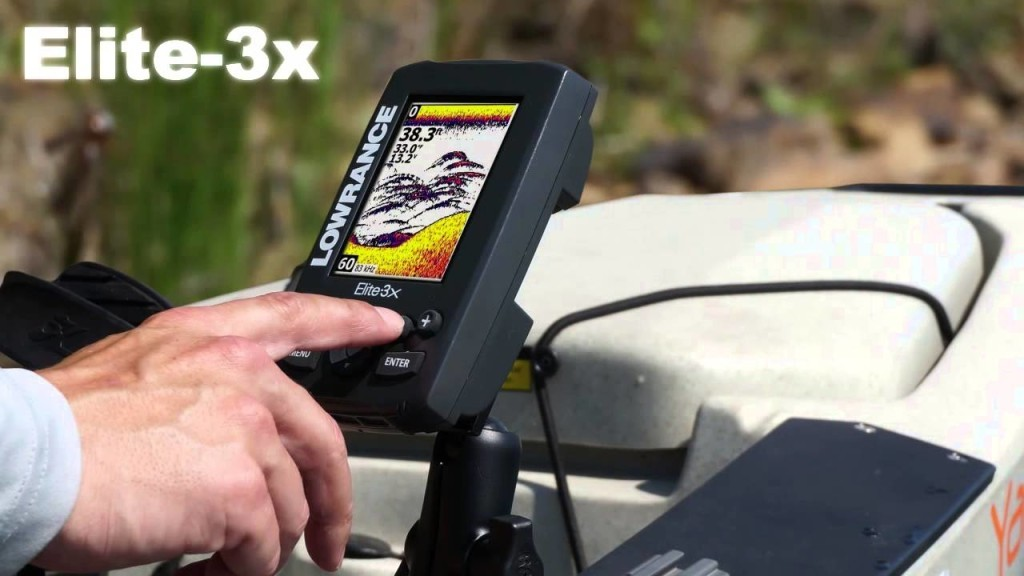 Lowrance Elite 3X ease of use